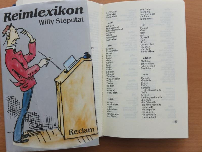 Reimwörterbuch von Willy Steputat bei Reclam