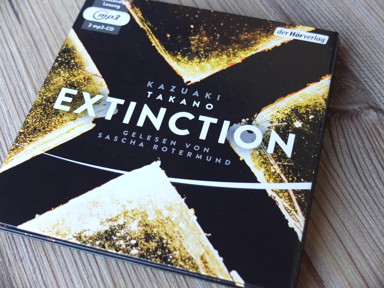 """Hörbuchfassung  """"Extinction"""""""