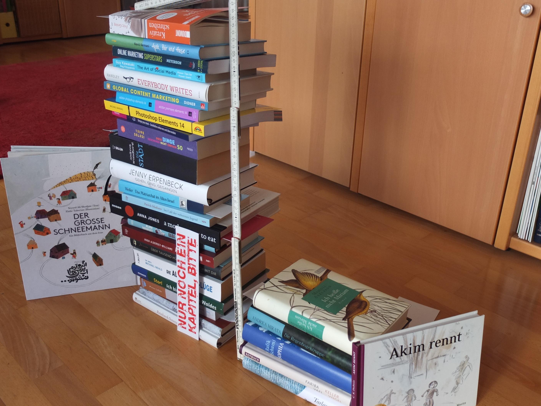 Mein Stapel ungelesener Bücher, Januar 2016